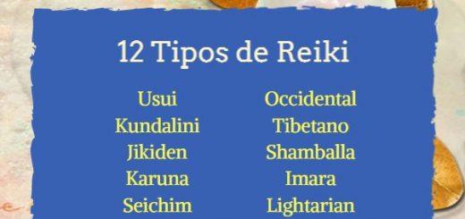 12 Tipos de Reiki